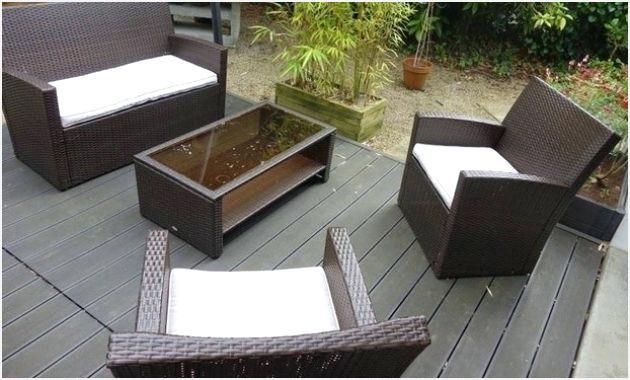 Salon de jardin resine tressee carrefour - Jardin piscine et Cabane