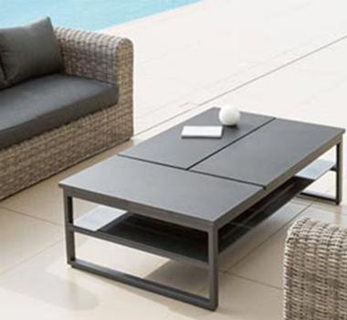Table salon exterieur