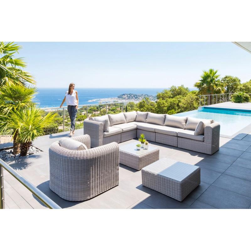 Salon de jardin composite hesperide - Jardin piscine et Cabane