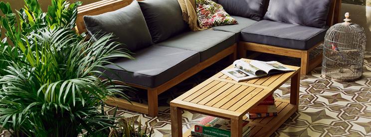 Table, fauteuil et chaise MONTEGO en bois durablement géré - Alinéa ...