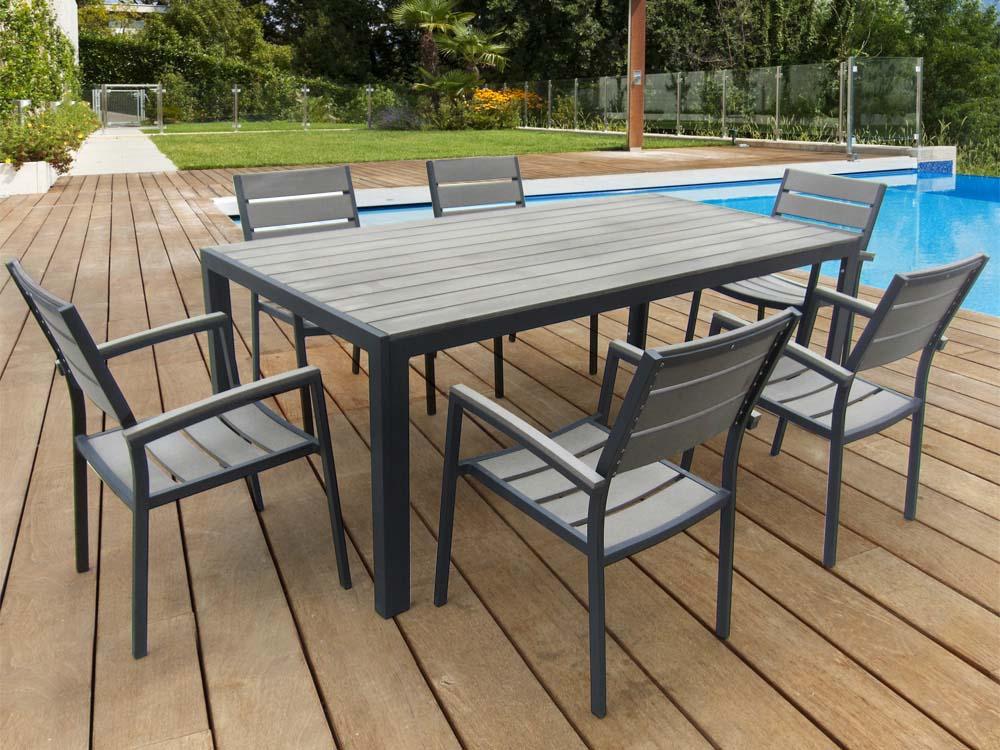 Table salon de jardin cdiscount - Jardin piscine et Cabane