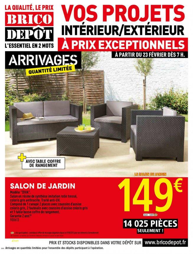 Brico depot mulhouse salon de jardin