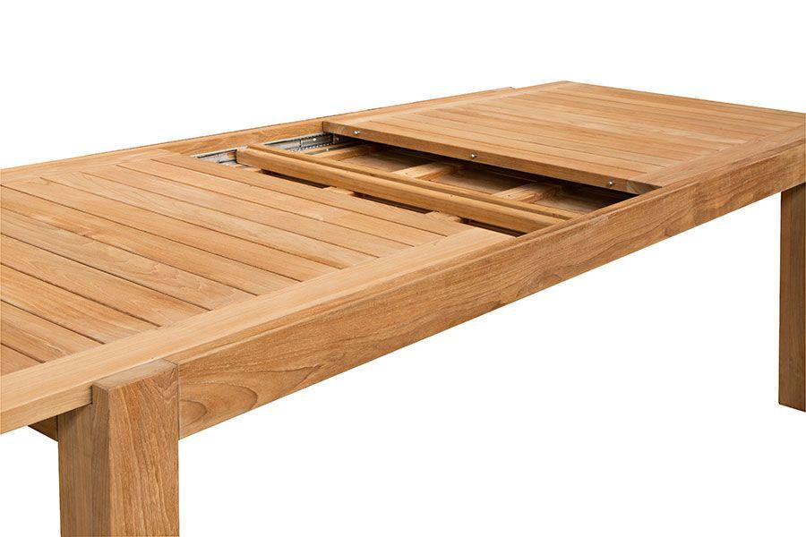 Salon de jardin table ronde avec rallonge - Jardin piscine et Cabane