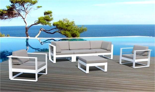 Salon de jardin luxe haussmann - Jardin piscine et Cabane