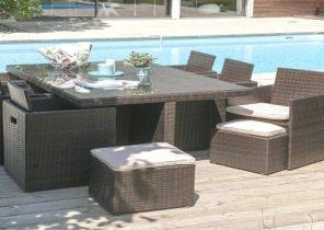 Salon de jardin pas cher resine tressée - Jardin piscine et Cabane