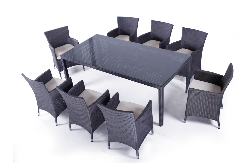 Ensemble Table Et Chaise De Jardin En Resine Pas Cher