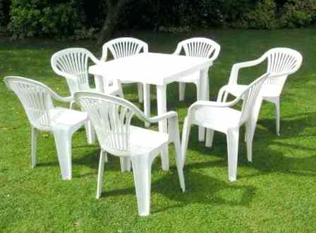 Table de salon de jardin plastique pas cher jardin - Table de jardin tresse pas cher ...