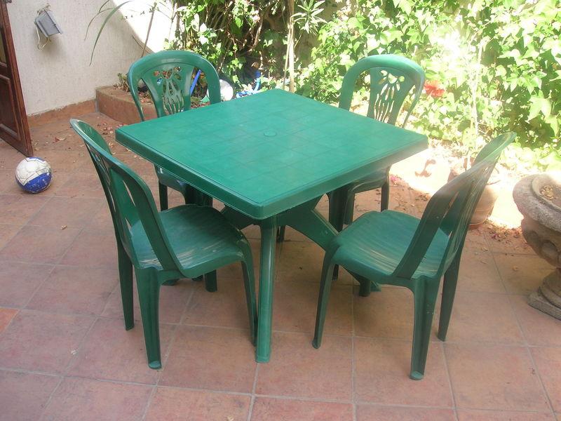 Table De Jardin Plastique Blanc