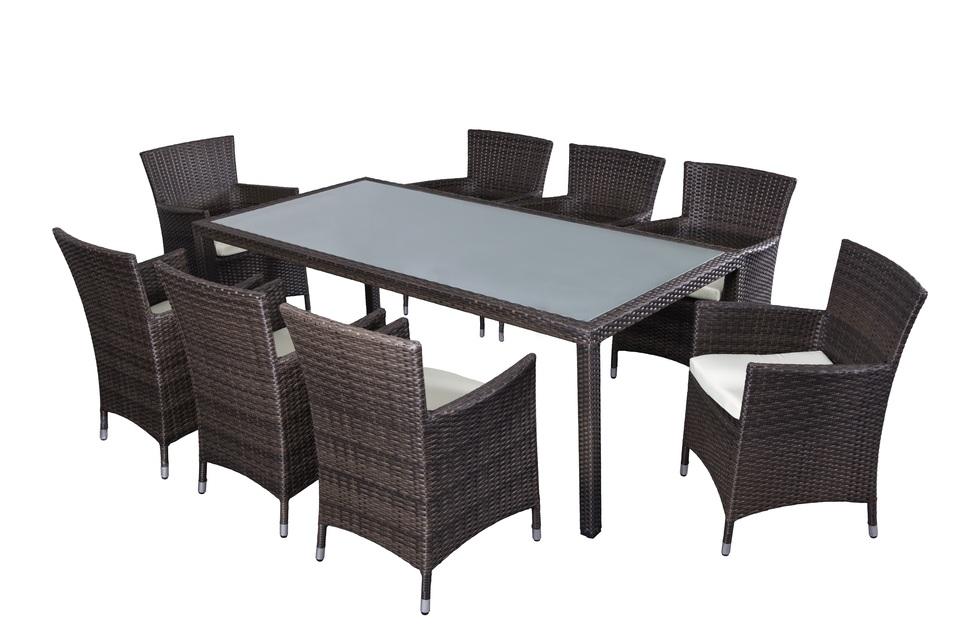 Salon de jardin table et chaises leclerc - Jardin piscine et Cabane
