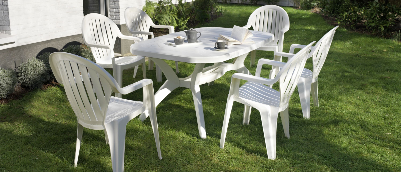 Best Salon De Jardin Blanc Grosfillex Images - House Design ...
