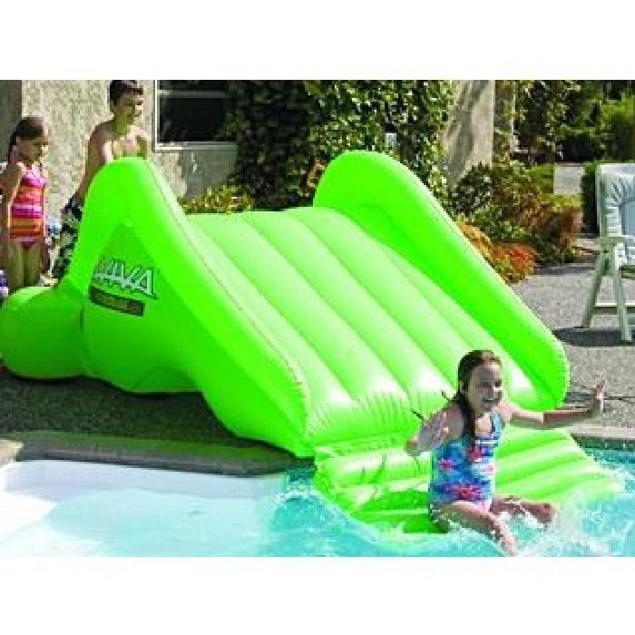 toboggan gonflable pour piscine pas cher jardin piscine. Black Bedroom Furniture Sets. Home Design Ideas