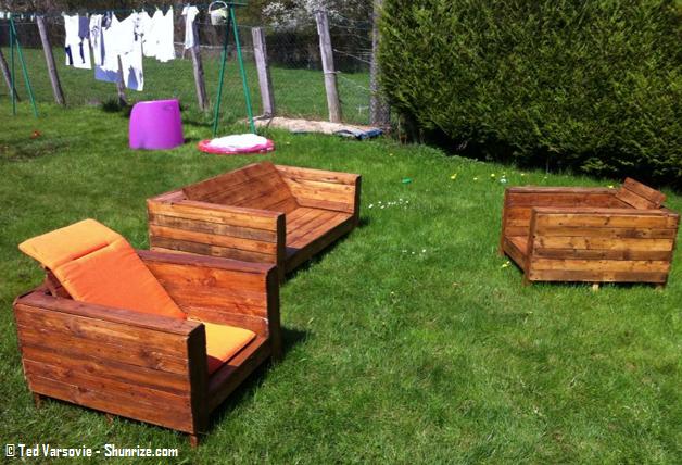 Amazing Salon De Jardin En Palette De Bois Tuto de Design - Idées ...