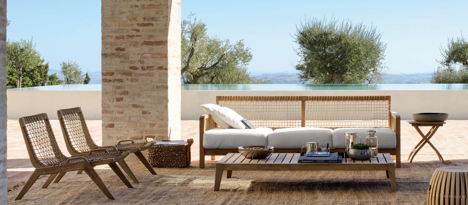 Salon de jardin unopiu - Jardin piscine et Cabane