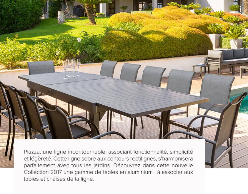 Salon De Jardin En Aluminium Hesperide | Idee Decoration Interieur ...