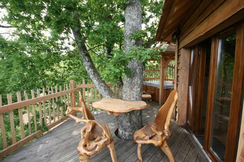 Cabane arbre sud